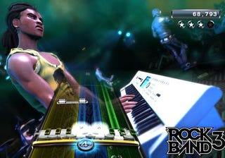 Illustration for article titled Rock Band 3 Teaches You To Rock With Real Guitars & Keyboards