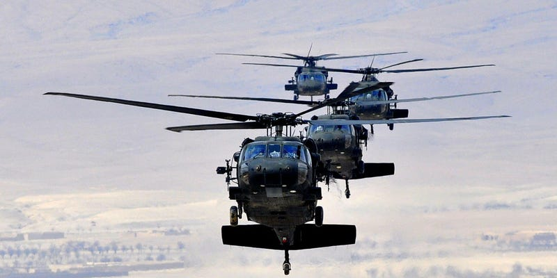 Illustration for article titled Black Hawk Choppers Are Finally Getting the Digital Cockpits They Need