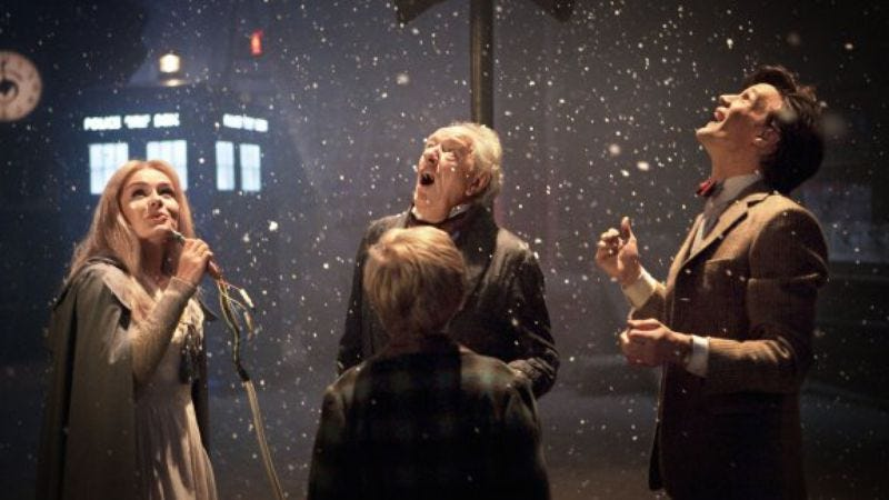 """Illustration for article titled Doctor Who:""""A Christmas Carol"""""""