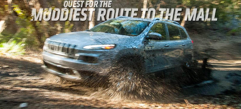 Illustration for article titled 2014 Jeep Cherokee: We Found Out What 'Off-Road Capable Crossover' Means