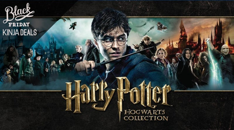 Illustration for article titled The Complete Harry Potter Blu-rays are Heavily Discounted Today
