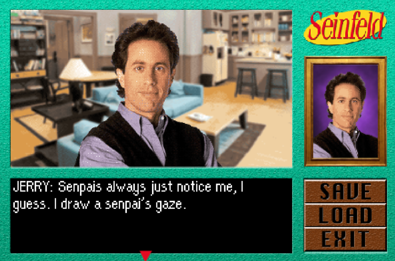Illustration for article titled You Should Play This Free SeinfeldAnime Game