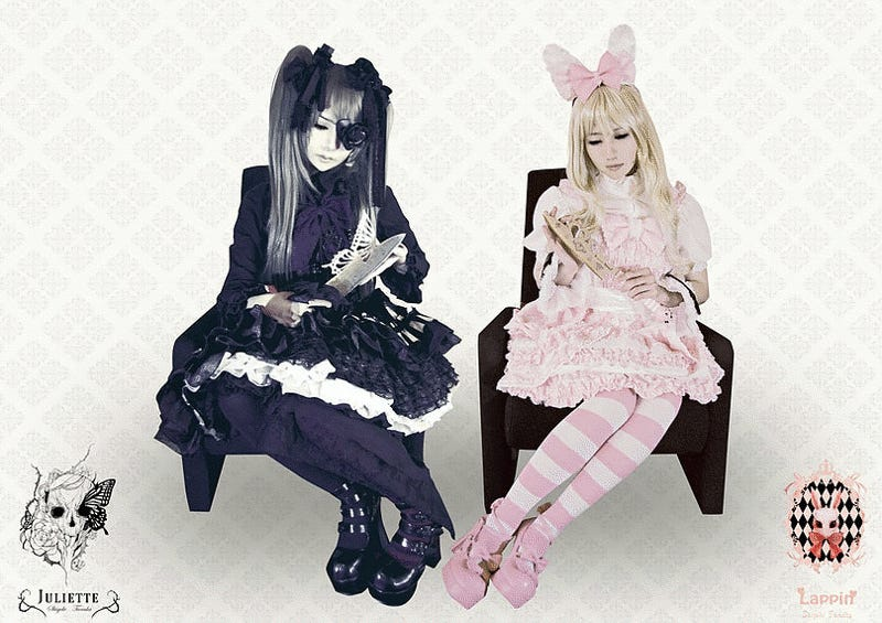 Gothic Lolita-Themed Kitchen Knives Exist