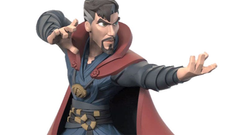 Illustration for article titled Aww, We'll Never Get ThisBenedict Cumberbatch Disney Infinity Figure