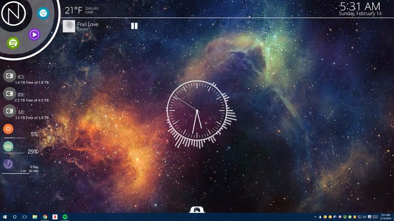 Illustration for article titled The NXT Nebula Desktop
