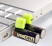 Illustration for article titled USB rechargeable batteries