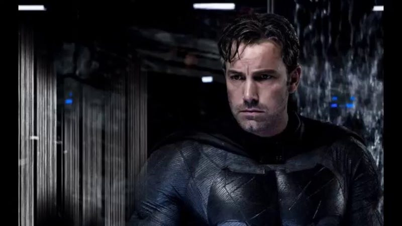 Illustration for article titled Ben Affleck Has Definitely Written a Script for a Solo Batman Movie