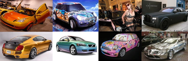 Illustration for article titled The Ten Most Outrageous Car Paint Jobs Of 2008