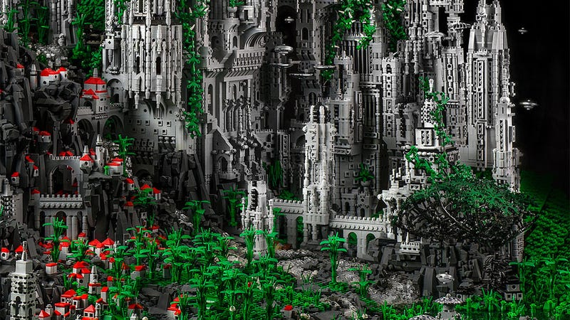 Illustration for article titled A LEGO City That Took, Well, Forever To Build