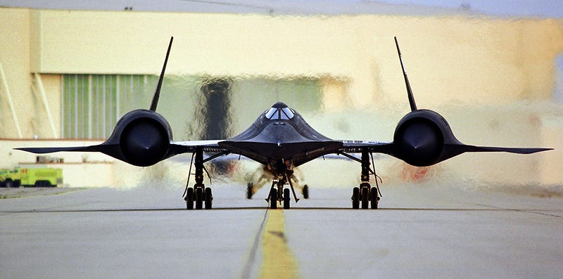 Illustration for article titled Celebrate The 51st Anniversary Of The SR-71 Blackbird's First Flight With These Crazy Stats