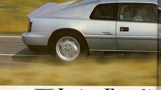 Lotus Esprit Turbo road test, Autocar, 20 April 1988