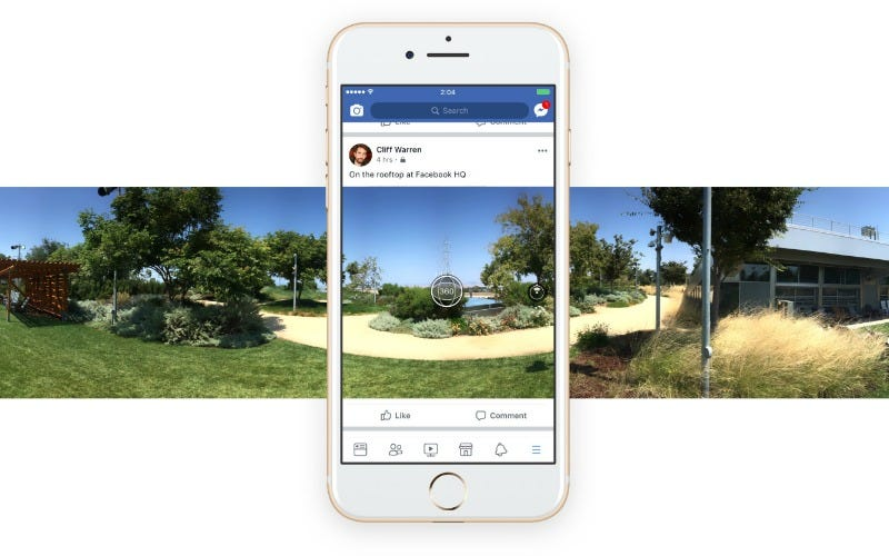 Now Everyone Can Shoot and Share 360 Pics on Facebook