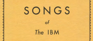 Illustration for article titled A Bizarre 1937 Corporate Songbook Sings the Praises of All-Glorious IBM