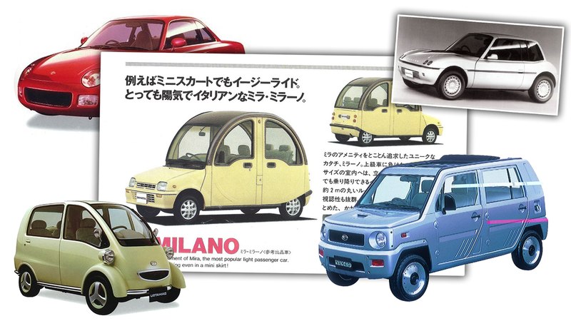 Illustration for article titled Someone Use Magic To Send My Ass To Daihatsu In The1990s, Please