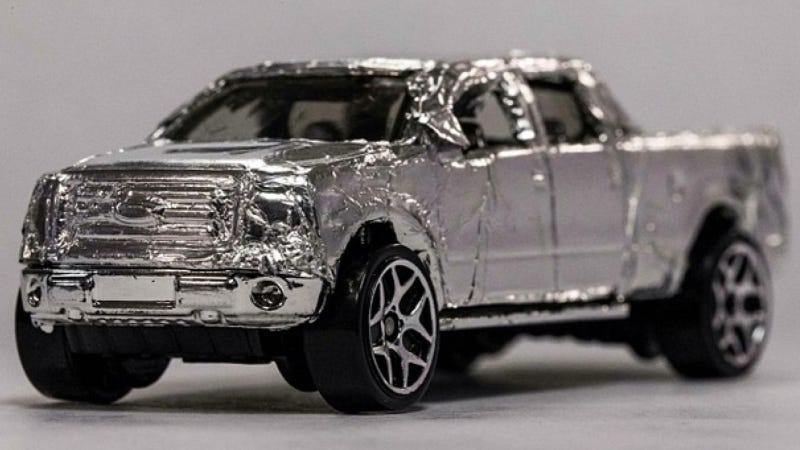 Illustration for article titled MotorTrend Releases First Picture Of 'Aluminum F-150'
