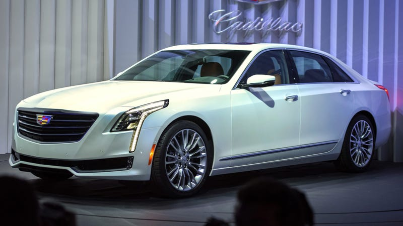 Illustration for article titled The 2016 Cadillac CT6 Will Start At $53,495