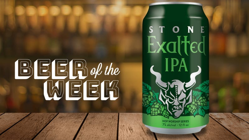 Illustration for article titled Beer Of The Week: Stone Exalted IPA