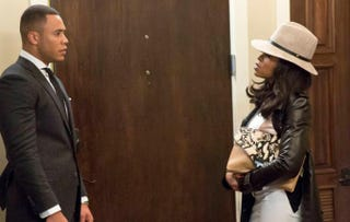 Trai Byers as Andre Lyon and Taraji P. Henson as Cookie in EmpireFox