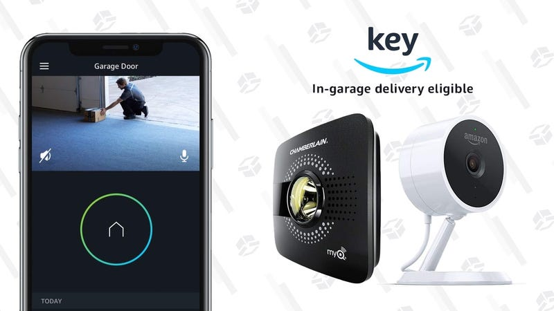 Get Packages Delivered Into Your Garage (Or Don't!) With This $30 Smart Garage Opener