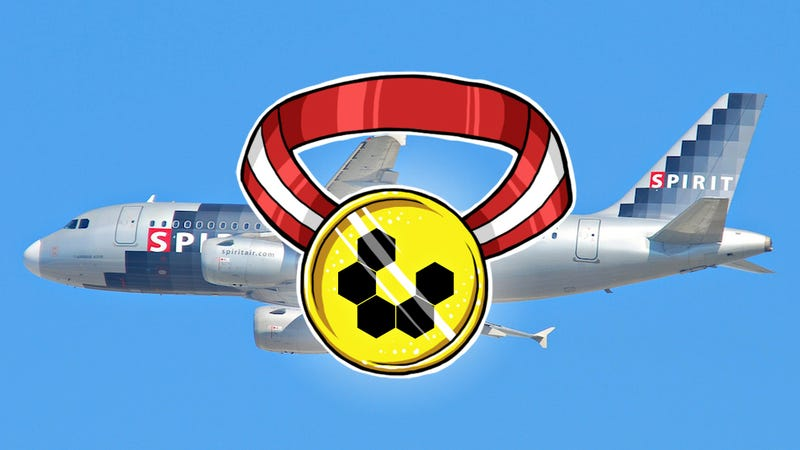 Illustration for article titled Your Least Favorite Airline: Spirit Airlines