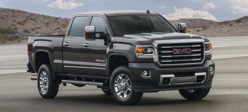 Illustration for article titled The 2015 GMC Sierra All Terrain HD Is For Doing Work Comfortably