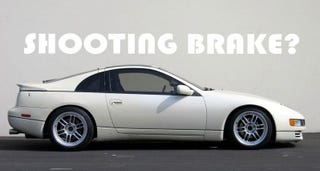 Illustration for article titled The z32 300zx should be a shooting brake...