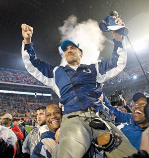 Illustration for article titled Tony Dungy: Bad For Gays? Good For Blacks?  Great For Everybody? Let's Go To The Tape...