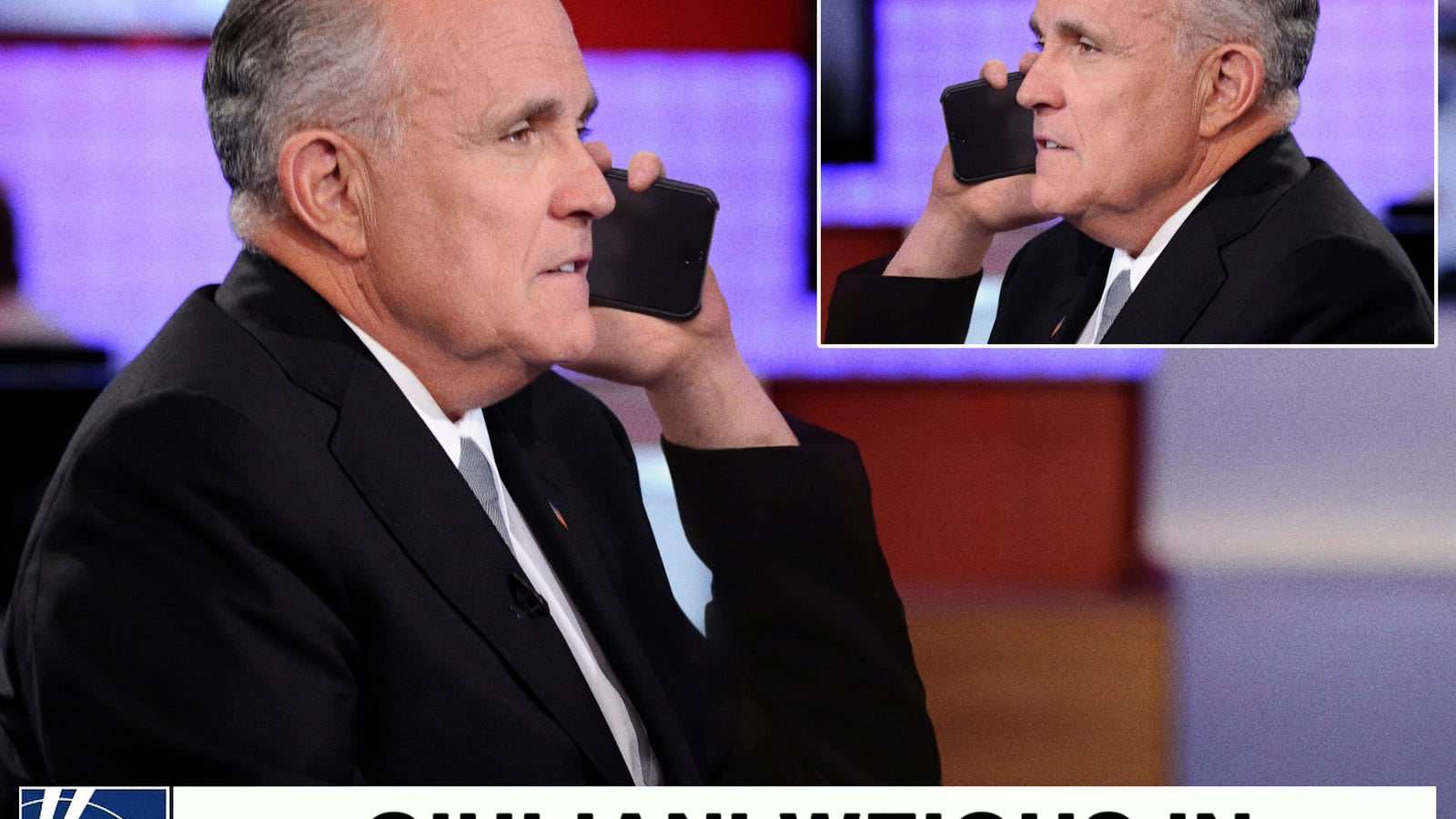 Rudy Giuliani Calls In To Talk Show He Already On To Deny What He Just Said