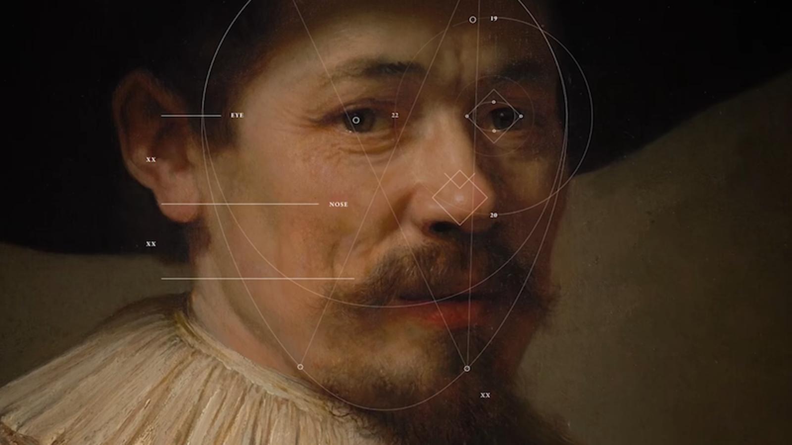 Una inteligencia artificial pinta un nuevo cuadro de Rembrandt tras estudiar toda su obra