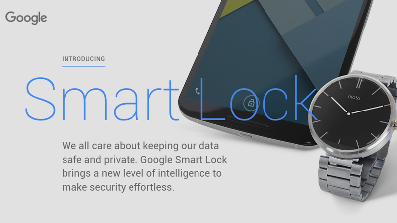 Stop Turning Off Your Lock Screen, Use Android Smart Lock