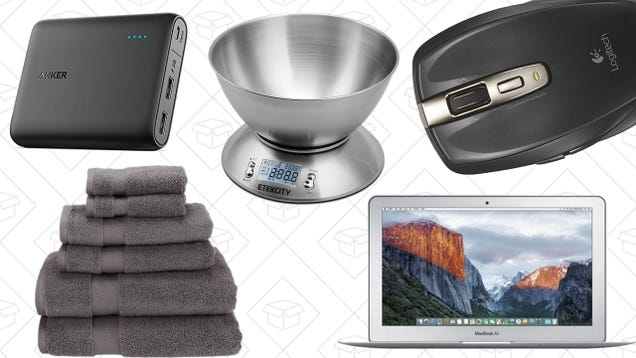 Today's Best Deals: Anker PowerCore 1300, $10 Kitchen Scale, Apple Laptop, and More