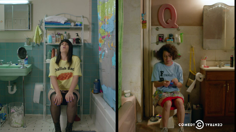Illustration for article titled Broad City's Season 3 Premiere Brings on the Potty Humor, and it's Perfect