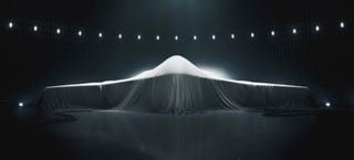 Illustration for article titled This Chilling Ad Reveals The Lines Of A Top Secret Stealth Bomber