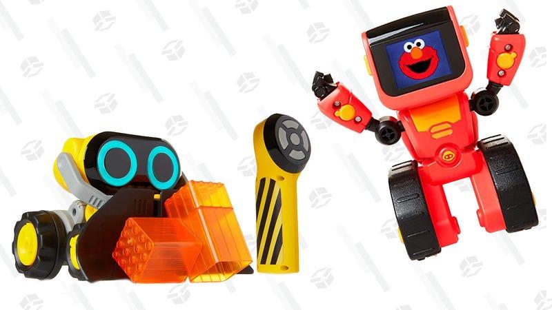 Wowwee Bot Squad Joe Plow Robot | $11 | AmazonWowwee Elmoji Junior Coding Robot | $8 | Amazon