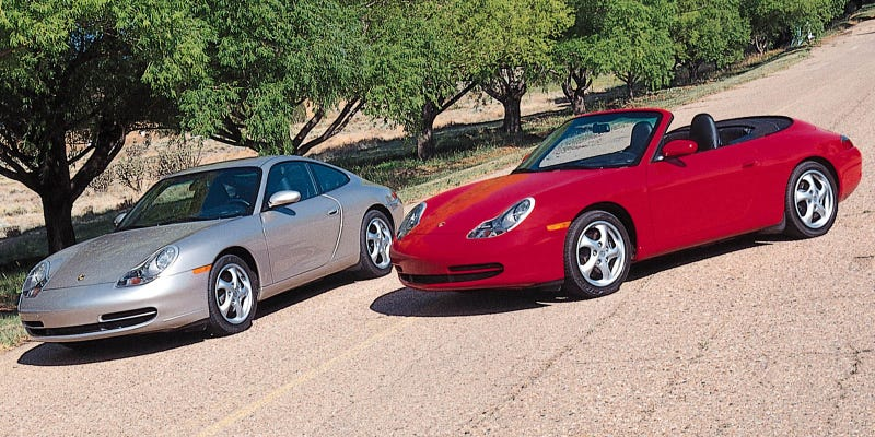 Illustration for article titled Why The Porsche 996 Is The 911 Deal Of The Century