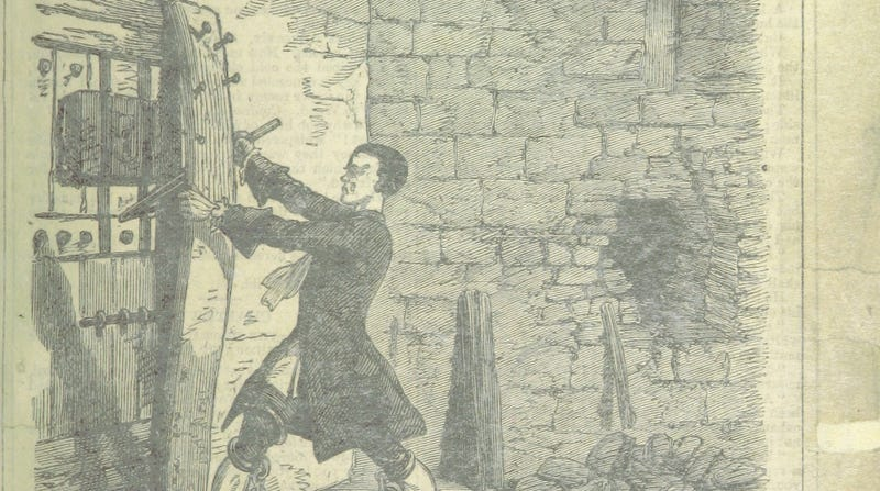 One of Jack Sheppard's many escapes