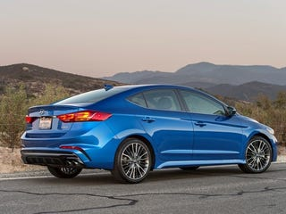 Illustration for article titled The Elantra Sport is a Genuinely Attractive Car