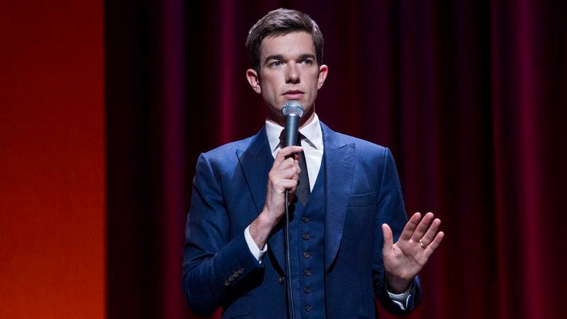 Illustration for article titled John Mulaney on his sitcom's failure, his hilarious new special, and his famous dog