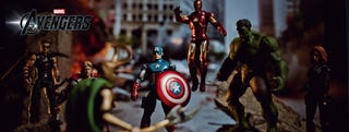Illustration for article titled The Avengers Action Figures