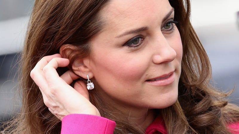 Duchess of Cambridge Kate Middleton famously suffered from hyperemesis gravidarum.