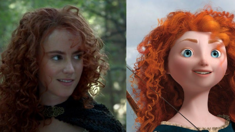 Illustration for article titled Merida from Brave will be on the next season of Once Upon A Time