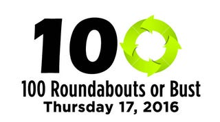 Illustration for article titled 100 Roundabouts or Bust!