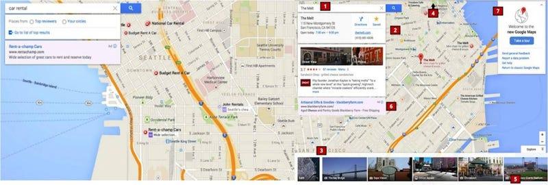 Illustration for article titled ¿Son estos los nuevos mapas de Google?