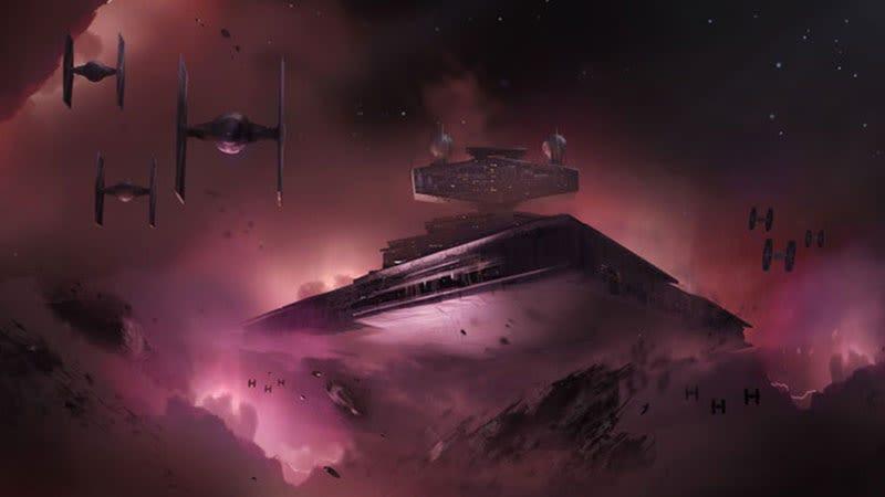 Un concept art del juego cancelado de Star Wars.Imagen: Electronic Arts