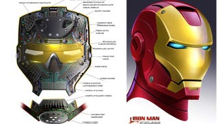 Illustration for article titled Iron Man concept art shows Tony Stark's gadgets that we never saw