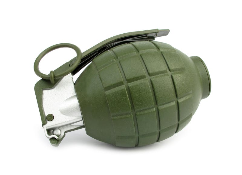 Illustration for article titled Curt Schilling's Son Accidentally Brings Fake Grenade To Logan Airport