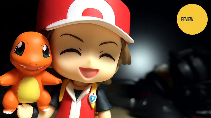 Illustration for article titled Nendoroid Pokémon Trainer Red: The Kotaku Review
