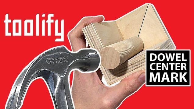 Make A Diy Dowel Center Finder Out Of Scrap Wood
