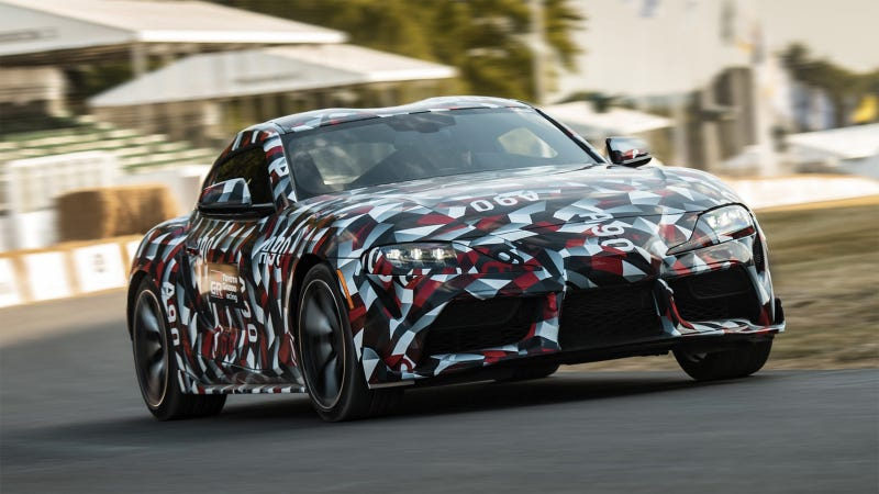 Illustration for article titled A Close Look at the New Toyota Supra Reveals Some Major BMW Parts [Updated]