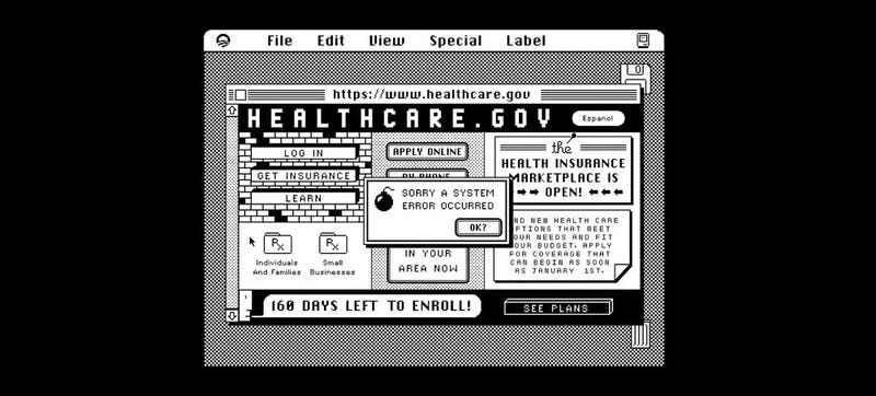 Illustration for article titled Healthcare.gov Is Being Hacked—By the Government